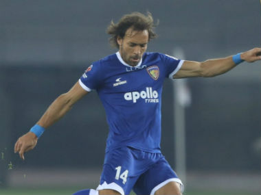 Inigo Calderon to be part of Chennaiyin FCs title defence in ISL 201819 after extending contract by one year