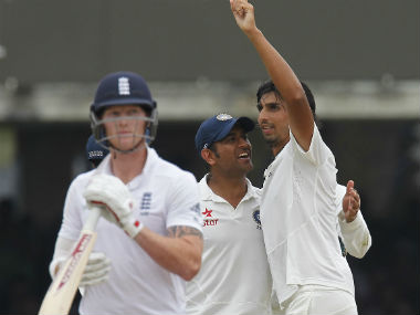 Ishant Sharma's figures of 7/74 helped India win by 95 runs at Lord's in 2014. AFP
