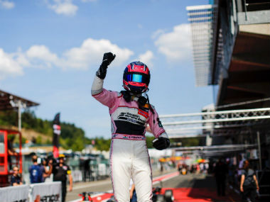 Indias Jehan Daruvala bags first Formula 3 win of season with pole to flag victory at European Championship in Spa