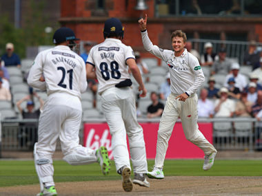 Joe Root picked four wickets to help Yorkshire win. Image courtesy: yorkshirecc.com