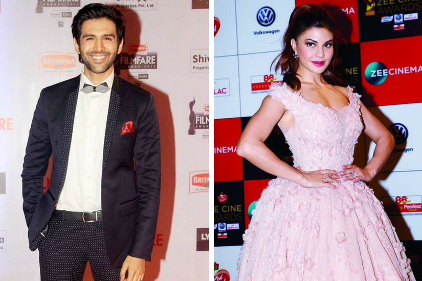 Jacqueline Fernandez may star opposite Kartik Aaryan in Kirik Partys Bollywood adaptation