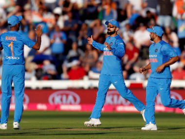 The Indian team started off on a strong note at Manchester, before falling short in the second T20I at Cardiff. Reuters