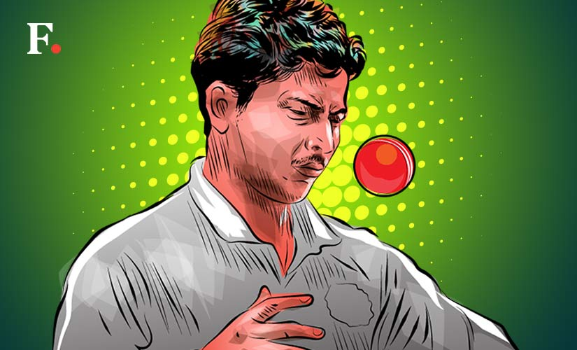 In the two Tests he has appeared in, Kuldeep Yadav has shown the temperament and skills to succeed in red-ball cricket. Artwork by Rajan Gaikwad