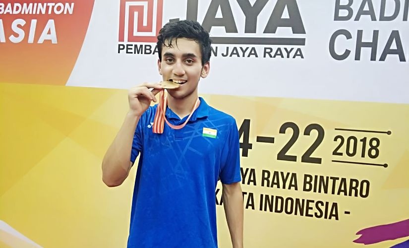 Asian Junior Badminton 2018 Lakshya Sen justifies sweat and tears with hardearned historic gold medal