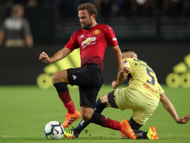 Premier League Juan Matas secondhalf strike rescues Manchester United from defeat against Club America in preseason opener
