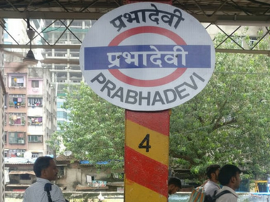 Mumbais Elphinstone Road railway station is now Prabhadevi renaming was done following demands by BJP Shiv Sena