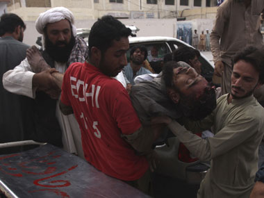 Pakistan blast 128 killed after explosion hits poll meeting in Balochistan Islamic State takes responsibility