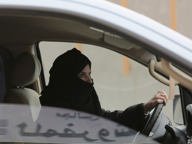 Days after Saudi Arabia lifts ban on female drivers men opposed to move set womans car ablaze