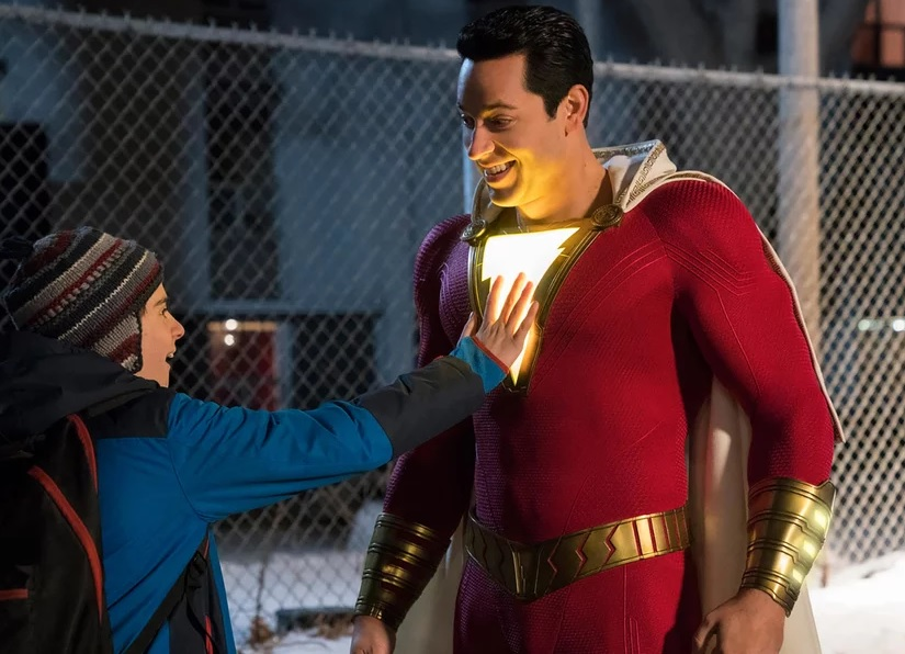 Shazam trailer DC Universe becomes more lighthearted with this superhero film starring Zachary Levi