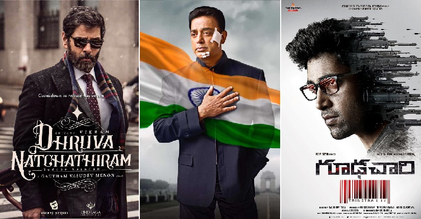 From Goodachari to Vishwaroopam 2 and Dhruva Natchathiram South filmmakers are betting big on spy films