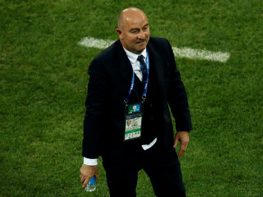 Stanislav Cherchesov handed twoyear extension as Russia coach after World Cup quarterfinal run