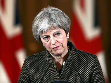 Theresa May unveils postBrexit immigration norms Indians wanting to work in Britain may face tougher time