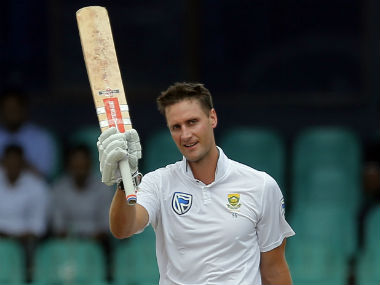 Theunis de Bruyn scored 101 off 232 balls in a losing cause in the second Test against Sri Lanka. AP