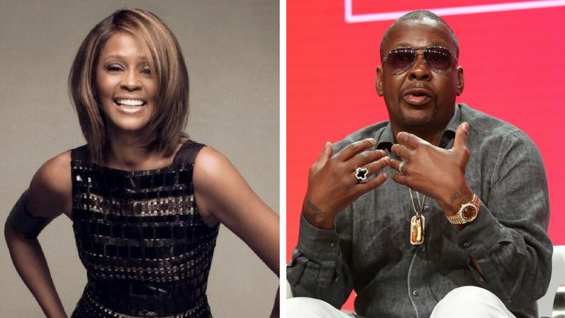 Bobby Brown denies that marriage to Whitney Houston ever turned violent in a reversal of past admission