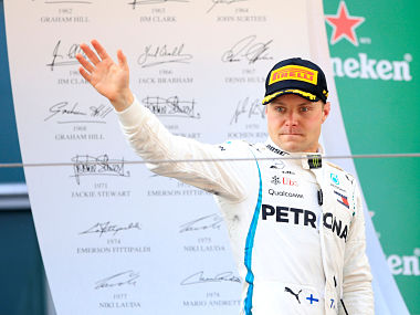 Formula One Valtteri Bottas extends stay at Mercedes by one year a day after Lewis Hamilton renews contract