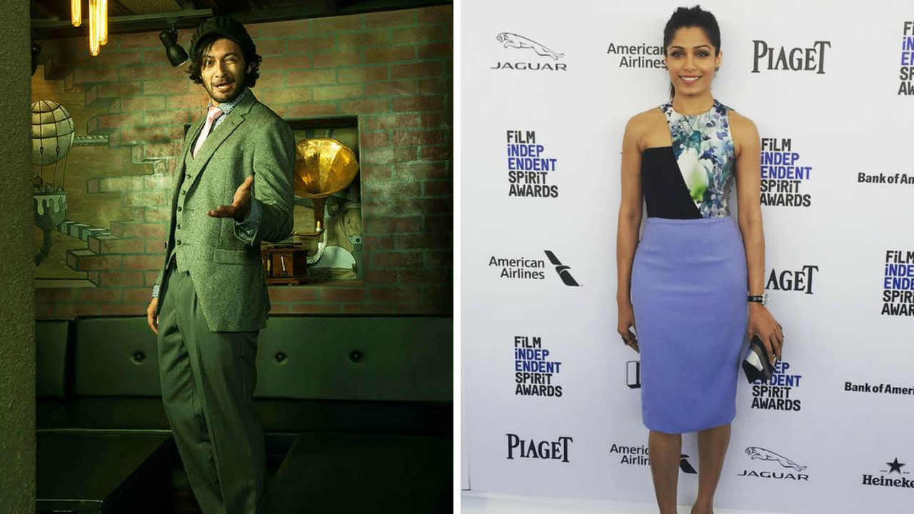 Ali Fazal Freida Pinto to be part of IFFM panel discussion on being nonAmerican actors in the West