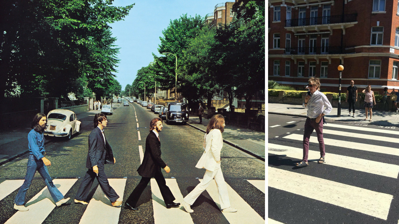 Paul McCartney recreates Abbey Road album cover ahead of its 49th anniversary