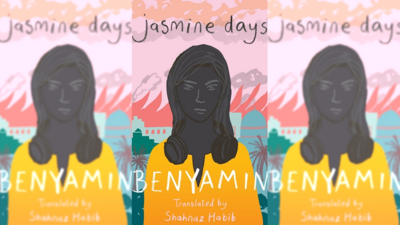 Benyamin on his new book Jasmine Days writing about the Arab Spring and the beauty of Malayalam