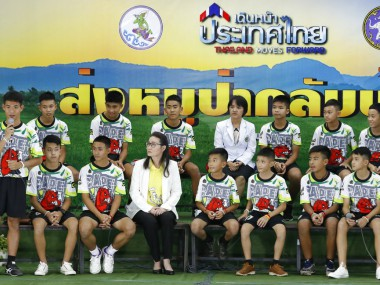 Thailand cave rescue 12 boys and coach discharged from hospital in good health speak of miracle rescue