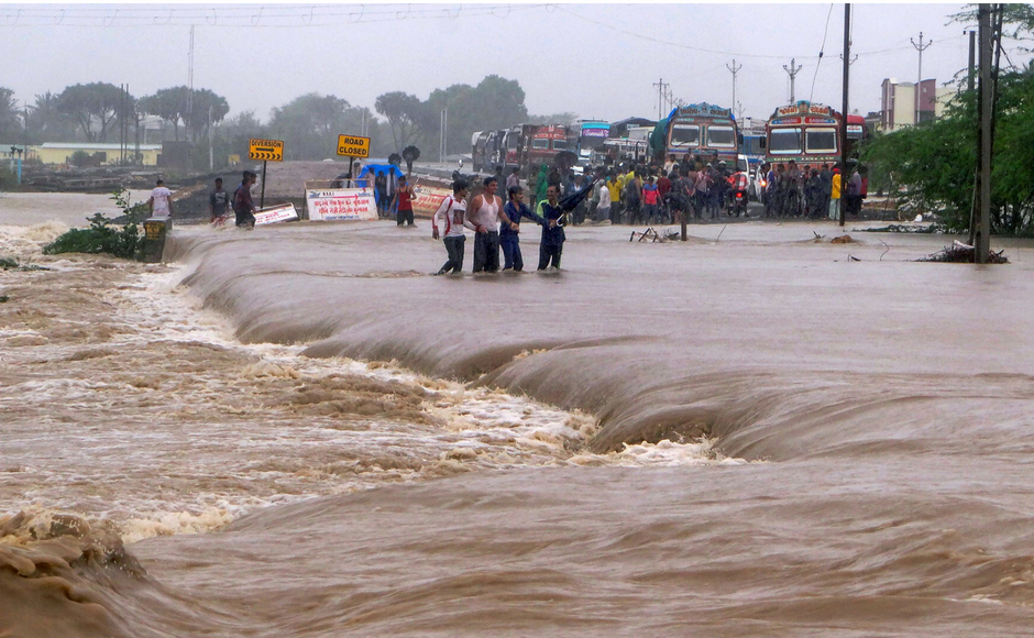 Monsoon covers all of India as weather department warns of heavy rainfall for large parts of the country