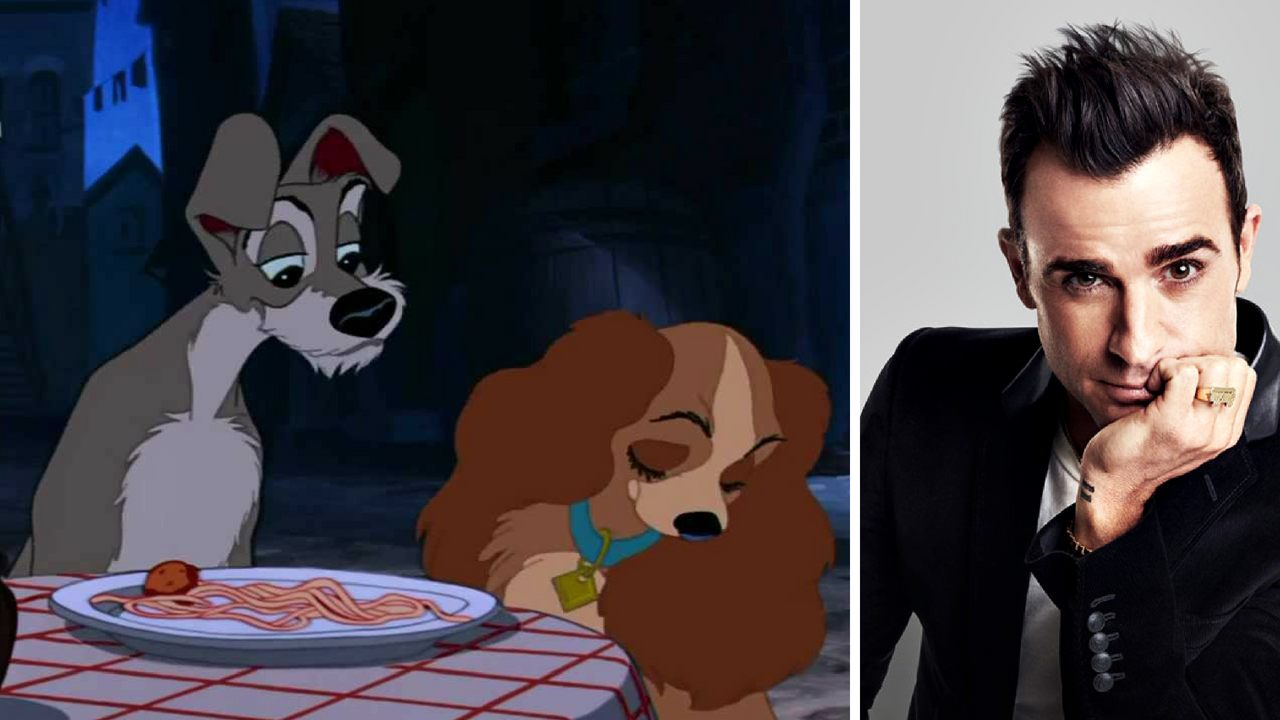 Justin Theroux in talks to join voice cast of Disneys 1955 classic Lady and the Tramp reboot