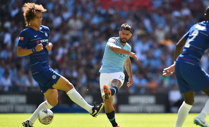 Community Shield Manchester City serve timely reminder of their might as Chelsea sweat over Sarriball