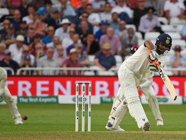 Rishabh Pant is batting unbeaten on 22 and will have to play a long innings on Day 2 to take Indian total beyond 400. AFP