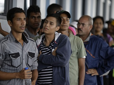 Venezuelan migrants fleeing countrys economic crisis pour into Peru before new passport rule come into force