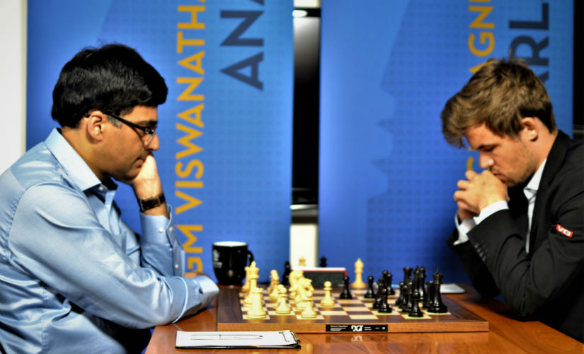 Sinquefield Cup Viswanathan Anand achieves a fighting draw against world champion Magnus Carlsen in fourth round