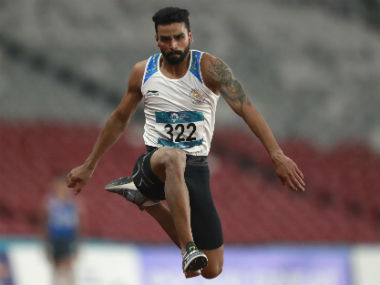 National InterState Athletics Championships Triplejumper Arpinder Singh wins gold but fails to touch Worlds qualifying mark