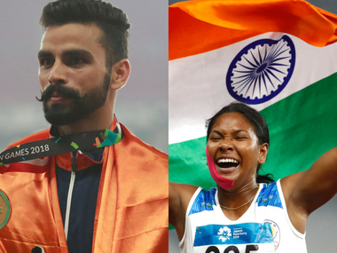 Asian Games 2018 Arpinder Singh Swapna Barman bag hardearned golds Indian paddlers come of age on Day 11