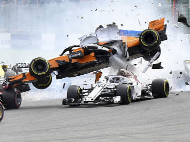 Italian Grand Prix Nico Hulkenberg reconsidering views on halo after safety device protects Charles Leclerc from injury