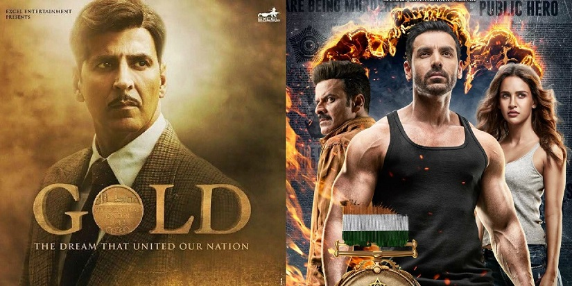 Gold Satyameva Jayate box office collection Day 1 Akshay Johns films open to combined total of Rs 45 cr