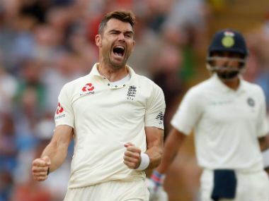 James Anderson managed to snare one wicket on Day 3. Reuters