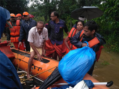 Indian Navy to take up restoration work in two villages in Keralas floodhit Ernakulam district