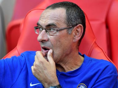 Premier League Chelsea boss Maurizio Sarri reveals he found out about losing Napoli job on TV