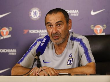 Premier League Chelsea manager Maurizio Sarri says club fighting against stupid people in racism battle