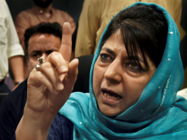Mehbooba Mufti congratulates Modi over Seoul Peace Prize questions his silence over attacks on Kashmiris in India