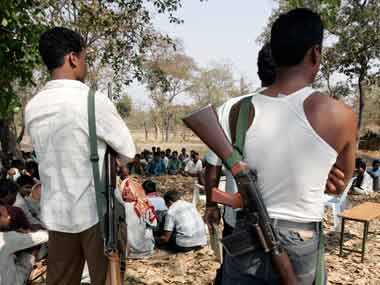 Five naxals surrender before police in Chhattisgarhs Bastar division three of them carried bounties on their heads