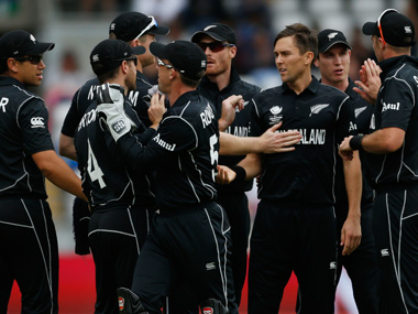 File image of New Zealand cricket team. Reuters