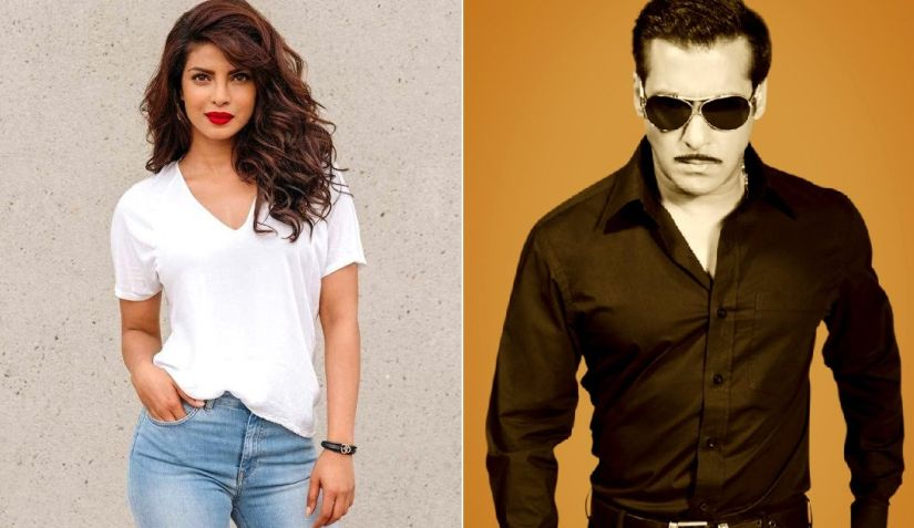 Salman Khan takes a dig at Priyanka Chopra for exiting Bharat She dumped the biggest film of her life