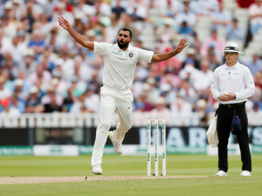 File picture of Mohammed Shami. Reuters