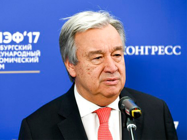 Antonio Guterres arrives in Pakistan UN chief to attend conference on Afghan refugees hold talks with Arif Alvi Imran Khan Shah Mahmood Qureshi