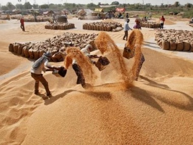 Govt hikes minimum support price of wheat by Rs 85 per quintal and pulses by up to Rs 325 per quintal