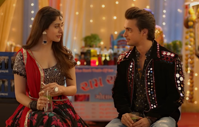Loveyatri movie review Aayush Sharma Warina Hussain are equally bland in Salman Khans ode to garba