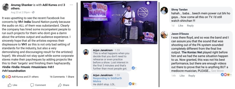 Backlash to VH1 Indias livestreamed gigs highlights how bad sound quality often lets down good musicians