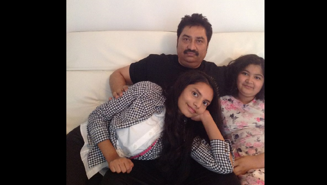 Kumar Sanu says he kept adoption of daughter Shannon a secret as he was afraid of society