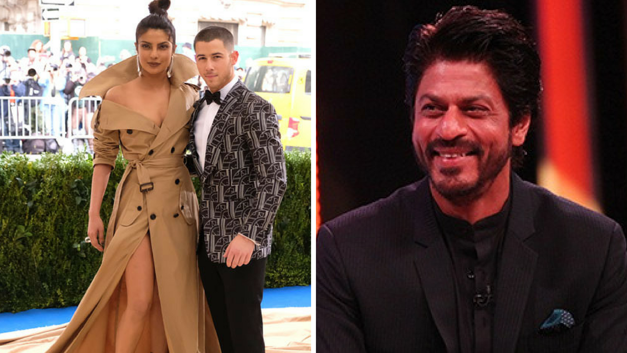 Shah Rukh Khan responds to Priyanka Chopras engagement rumours Even I am getting married