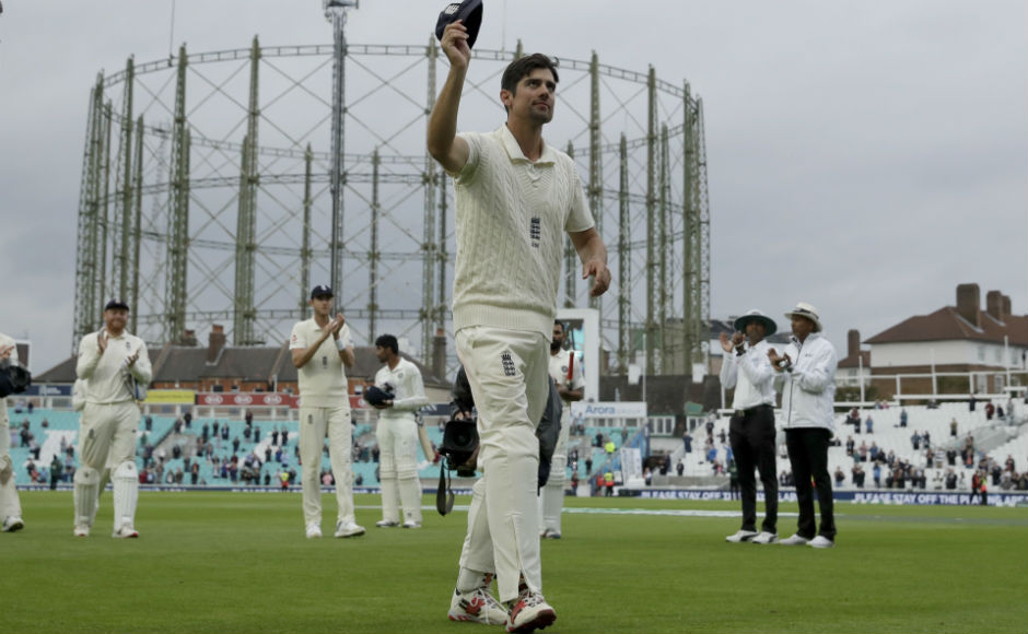 Alastair Cook bows out of international cricket in style as England hand India 118run defeat to win series 41