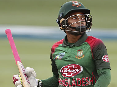 Bangladesh's Mushfiqur Rahim reacts as he leaves the field after being dismissed during the final one day international cricket match of Asia Cup between India and Bangladesh, in Dubai, United Arab Emirates, Friday, Sept. 28, 2018. (AP Photo/Aijaz Rahi)